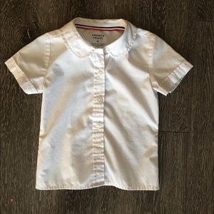 Girls White Uniform Blouse size 3T